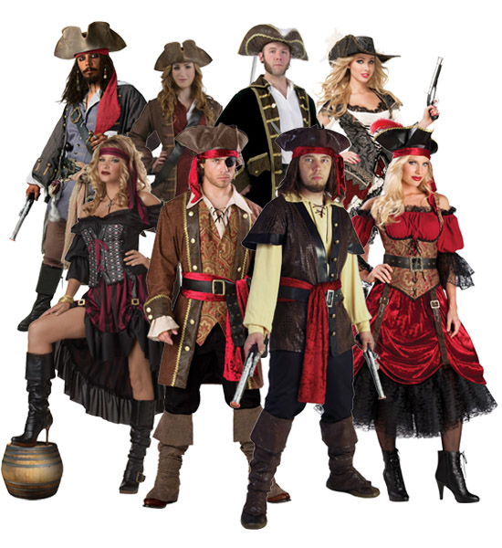 Renaissance Pirate Group Costume