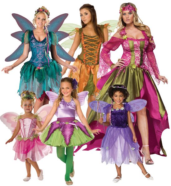 renaissance fairy group costume