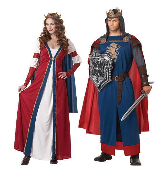 Renaissance Faire King and Queen Costumes