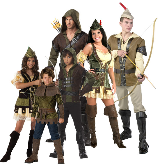 Robin Hood Renaissance Group Costume