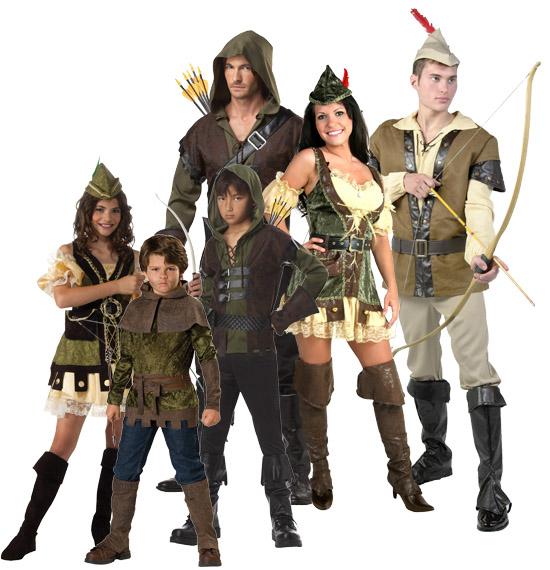 Robin Hood Renaissance Group Costume