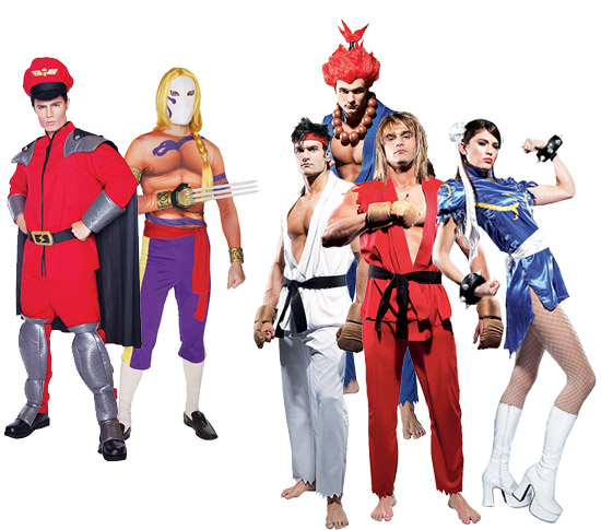 Street Fighter Group Costumes