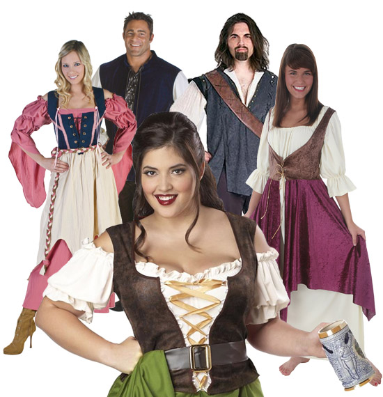 Renaissance Faire Tavern Group Costume