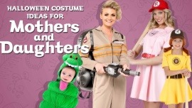 Halloween Costume Ideas for Mothers and Daughters