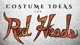 Costume Ideas For Redheads Halloweencostumes Com Blog