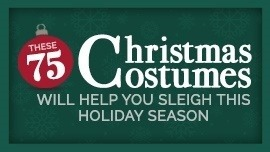 These 75 Christmas Costumes Will Help You Sleigh This Holiday Season