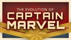 The Evolution Of Captain Marvel Infographic Halloweencostumes Com Blog Carol also has a long history of different costumes, some amazing, and some tragic. the evolution of captain marvel