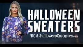 Halloween Sweaters from HalloweenCostumes.com