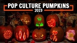 Pop Culture Pumpkin Carving Stencils that Scream 2019 [Printables]