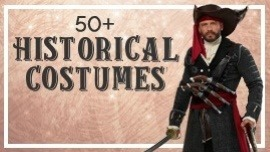 Over 50 Historical Costumes