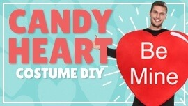 Candy Heart Costume DIY