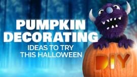 Pumpkin Decorating Ideas to Try This Halloween [Halloween at Home 2020]