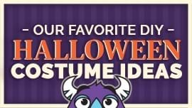 Our Favorite DIY Halloween Costume Ideas [How to Halloween 2020]