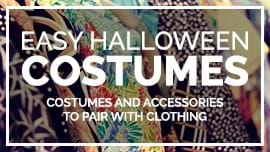 72 Easy Halloween Costumes and Accessories for a No-Fuss Halloween [Costume Guide]