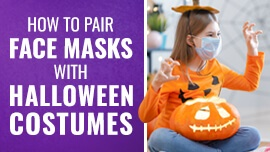 How to Pair Face Masks With Halloween Costumes [How to Halloween 2020]