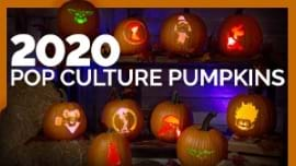 These Pop Culture Halloween Pumpkin Stencils are Totally 2020 [Printables]