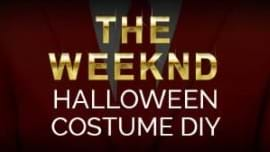 DIY The Weeknd Halloween Costume