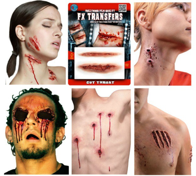 Prosthetic Makeup Kit for Halloween