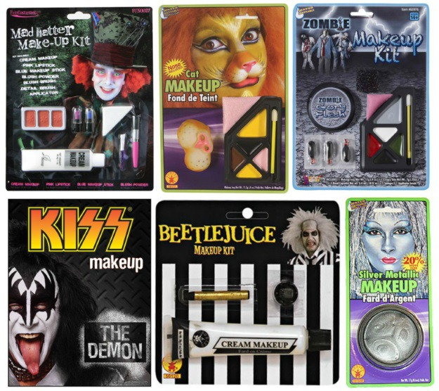 Basic Halloween Makeup Kits