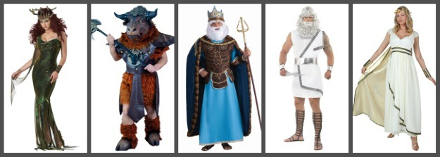 Greek Gods Collage
