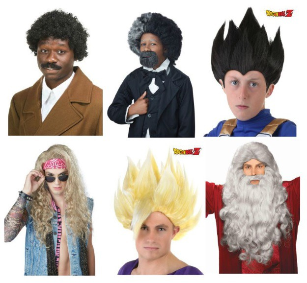 Prime Top 10 Wig Styling Tutorials And Tips Halloween Costumes Blog Hairstyles For Men Maxibearus