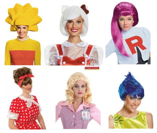 Halloween Wigs for Women