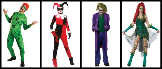 Batman Villians Halloween Costumes