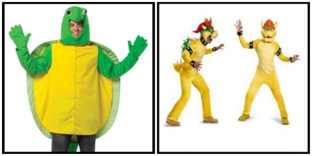 Mario Kart Bowser Halloween Costumes