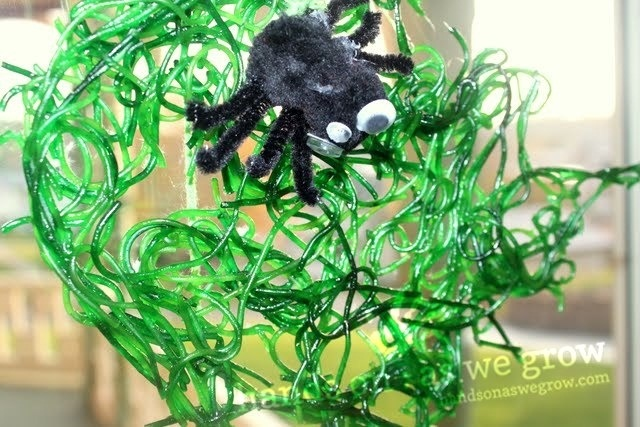 Pinterest Spider Balloon Idea