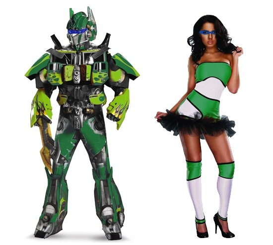 Green Costume Mashup Ideas
