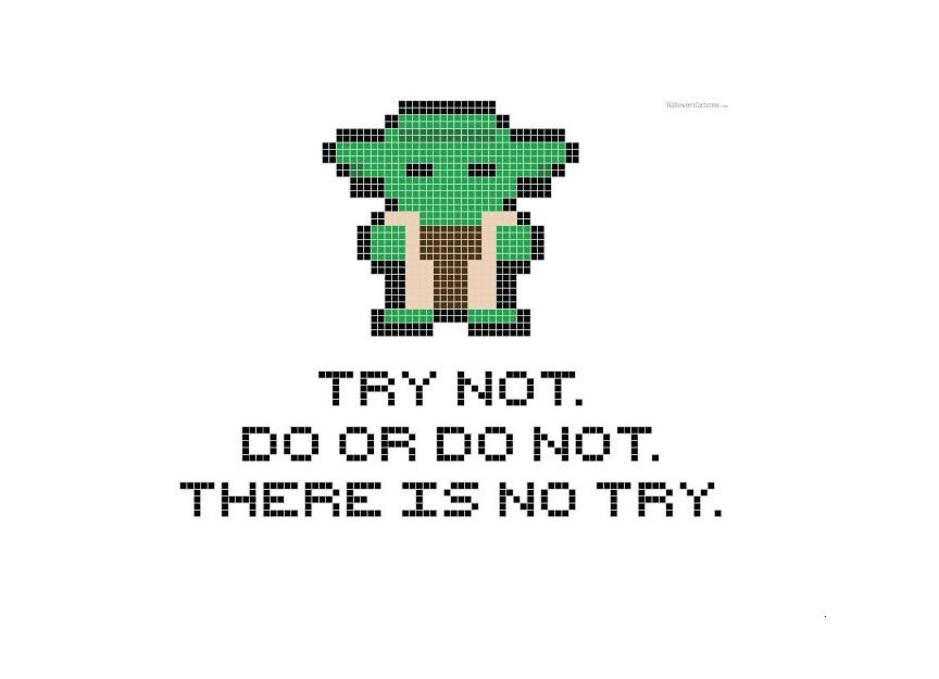 Yoda Cross Stitch header