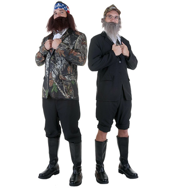 Duck Dynasty Costumes  sc 1 st  Halloween Costumes & DIY Duck Dynasty Tuxedo Costumes - Halloween Costumes Blog