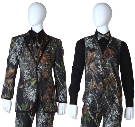 Mossy Oak Camouflage Tuxedos