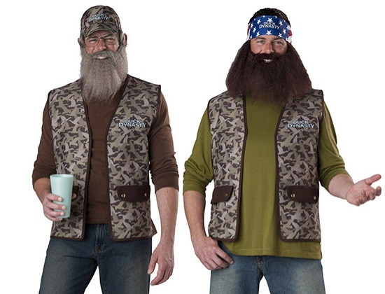 Willie and Si Duck Dynasty Costumes