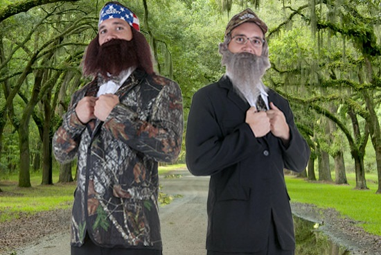 Duck Dynasty Halloween Costumes  sc 1 st  Halloween Costumes & DIY Duck Dynasty Tuxedo Costumes - Halloween Costumes Blog
