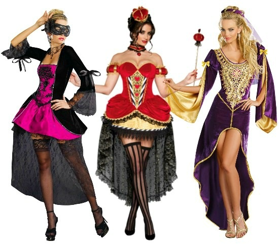 Velvet High Low Dresses. Sexy Victorian Masquerade ...  sc 1 st  Halloween Costumes & High Low Hemline Costume Ideas - Halloween Costumes Blog