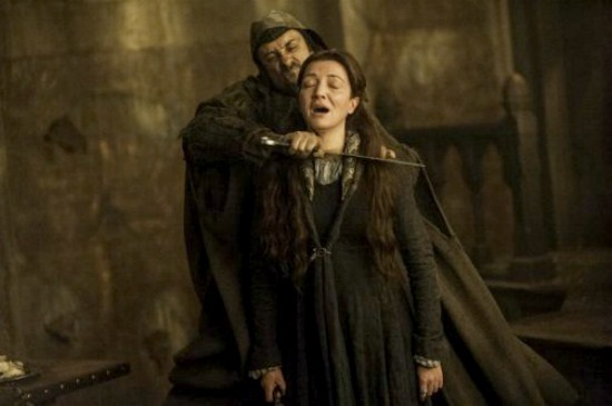 Catelyn Throat Cut Game of Thrones