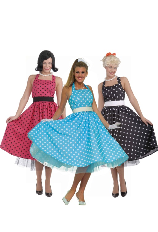 Pop Art Dotted Dresses
