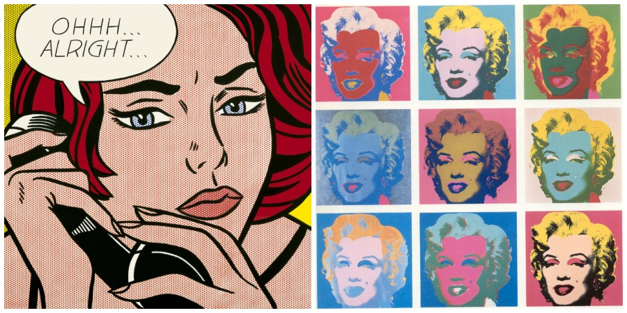 Pop Art Collage