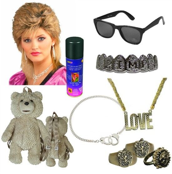 Accessories for DIY Miley Cyrus Costume