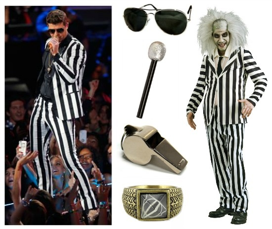 DIY Robin Thicke Costume