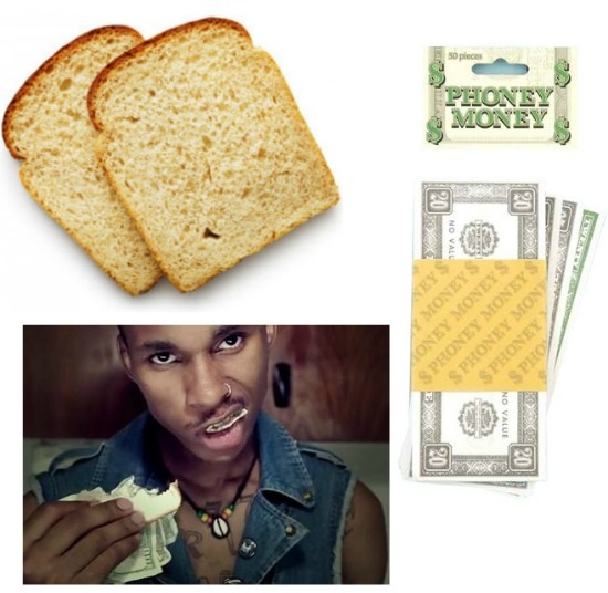 DIY Money Sandwich Miley Cyrus Video