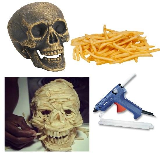 DIY French Fry Skull Miley Cyrus Video