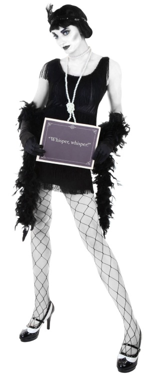 DIY Silent Film Star Flapper Full Body