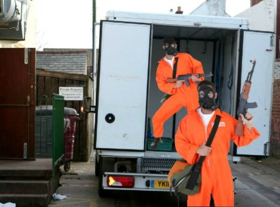 GTA Robbery van costumes