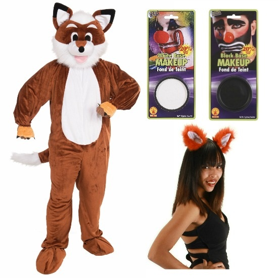 DIY Fox Say Costume for him