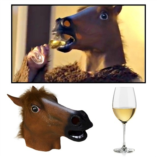 Horse Mask from Fox Video