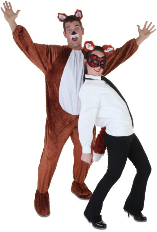 What does the fox say couples costume