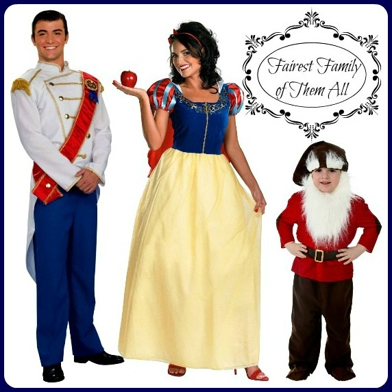 Snow White Costume Idea For Families