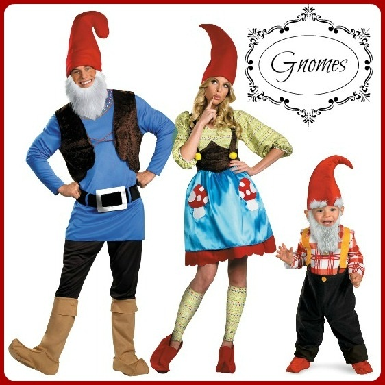 Gnome Group Costume Idea